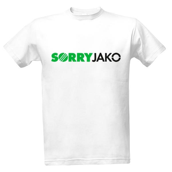 8ac61c97113a Tričko s potlačou Sorryjako